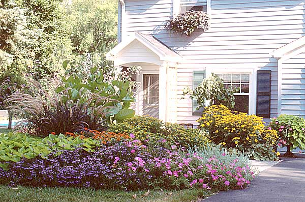 Explore Cornell Home Gardening Flower Garden Design Basics